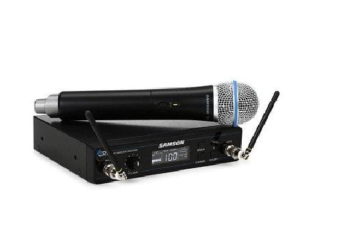 Micrófono SAMSON Inalámbrico Wireless Concierto HQ8-D
