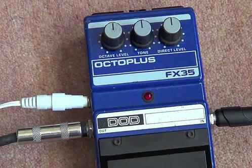 Pedal p/ Guit Elect DOD Octoplus