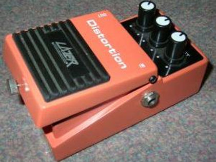 Pedal p/ Guit Elect LAZER Distorsión