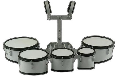 Timbaleta Profesional Multitenor  Quintuple