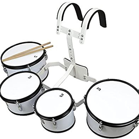 Timbaleta Profesional Multitenor Cuadruple