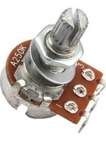 Potenciometros 250K p/ Bajo Electrico   -PEQUEÑO-