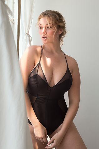 Hunter McGrady of Wilhelmina Models