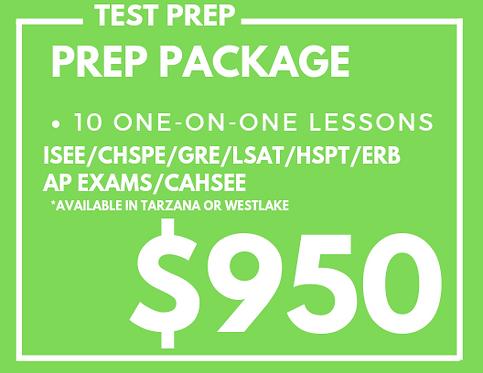 Test Prep Package