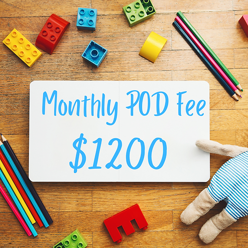 Monthly POD fee
