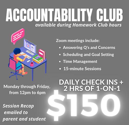 $150 Accountability Program