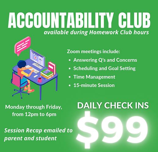 $99 Accountability Program