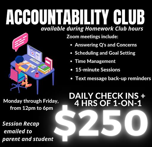 $250 Accountability Program