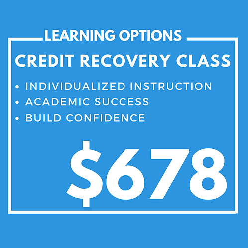 Credit Recovery Class