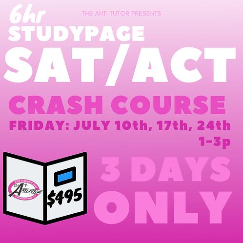 SAT/ACT Crash Course