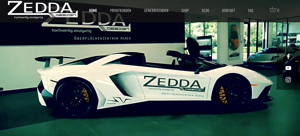 zedda design Felgenveredelung Webseite Erfahrungen preise