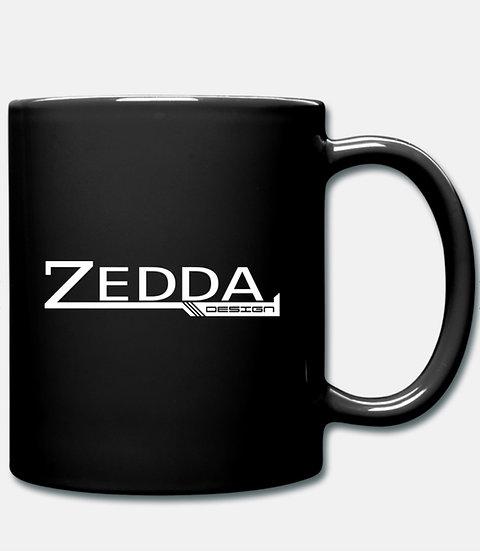KAFFEE TASSE ZEDDA.DESIGN SchwarzWeiss