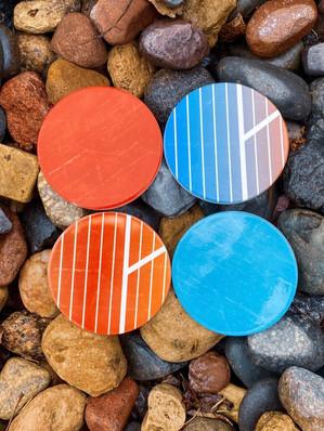 Retro Inspired Coasters