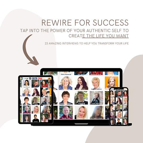 REWIRE FOR SUCCESS 22 person interview BUNDLE