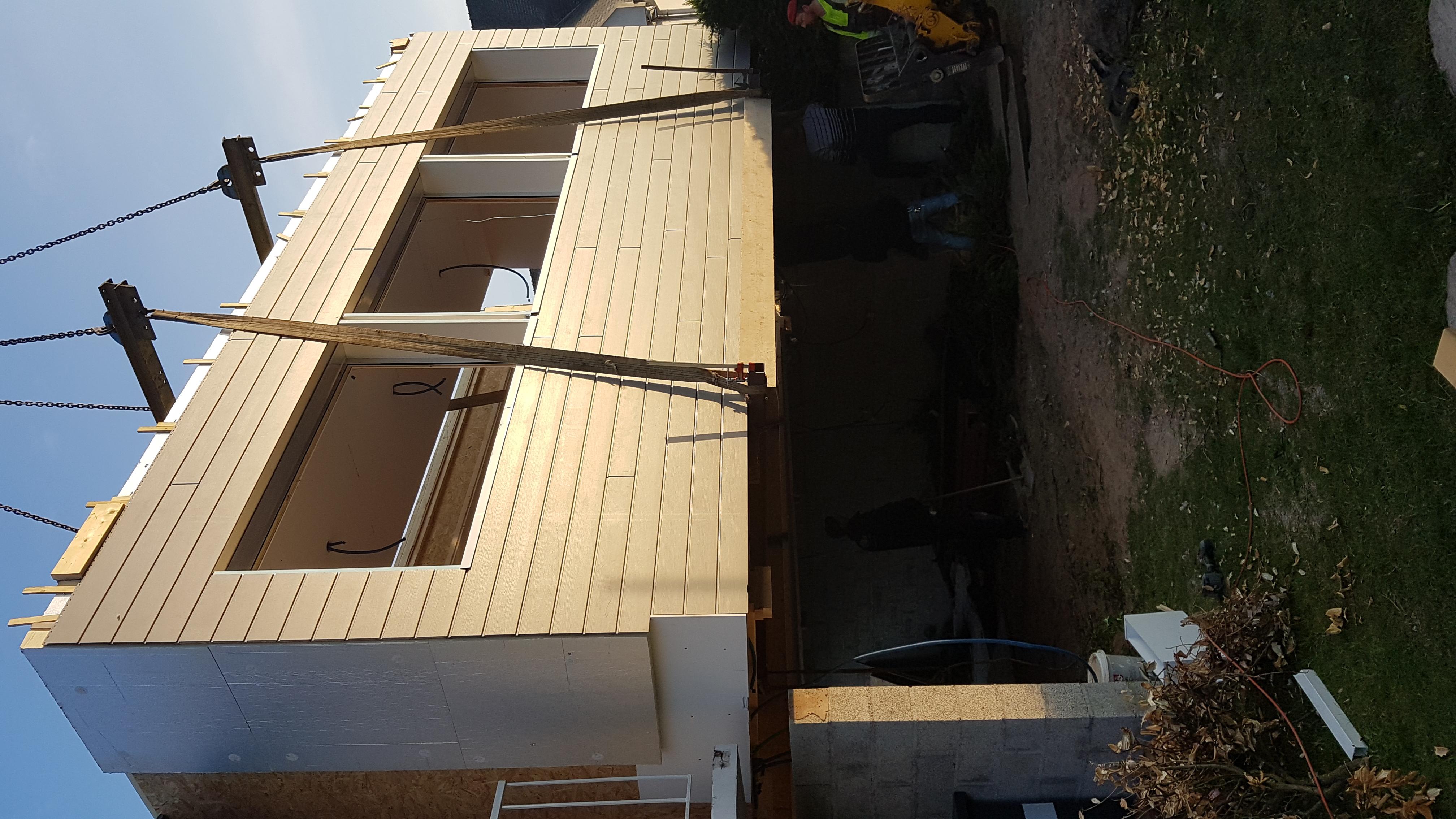 Extension 80 m²