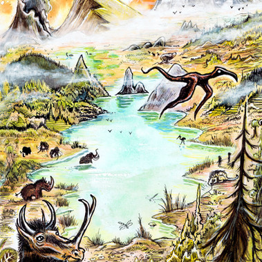 Prehistoric lake