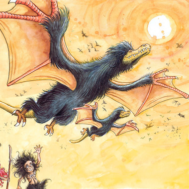 Proud dragons