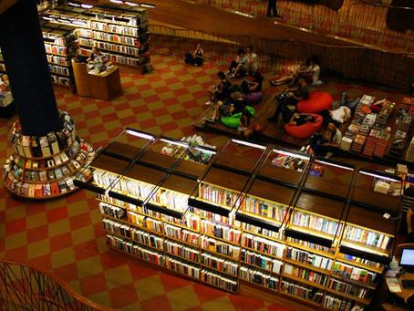 O crepúsculo das livrarias