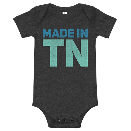 """Made in TN"" Onesie"