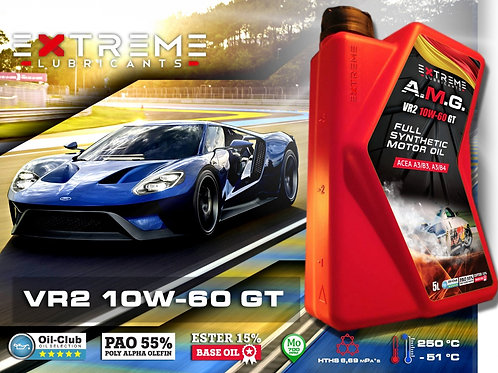EXTREME AMG 10W60 FULL SYNTHETIC OIL -  5L
