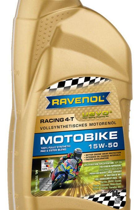 RAVENOL RACING MOTOBIKE 15W50 - 1L