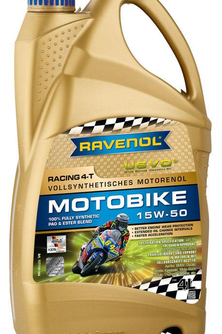 RAVENOL RACING MOTOBIKE 15W50 - 4L