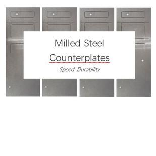 Diemaking / Diecutting 101 - Milled Steel Counterplates