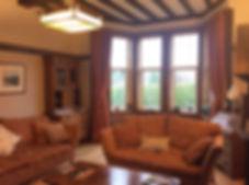 Guest Lounge at Gardenrose B&B, Maybole