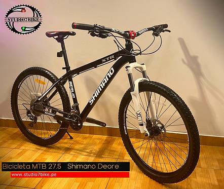 Bicicleta MTB 27.5 Shimano Deore Aluminio