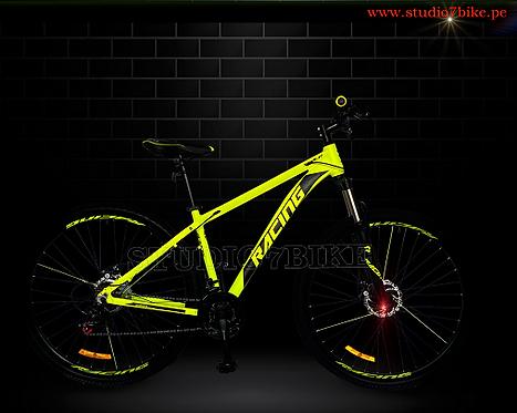 Racing - Bicicleta De Aluminio Aro 29 MTB