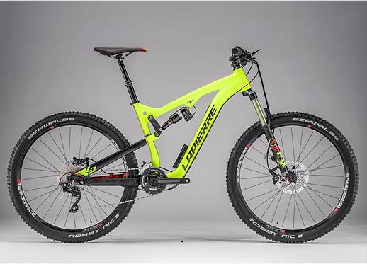bicicleta de montaña en perú