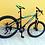 bicicleta para jóvenes montañera