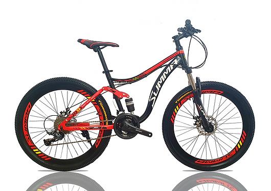 Bicicleta Doble Suspensión Aro 26 -27 velocidades
