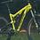 bicicleta con amortiguador