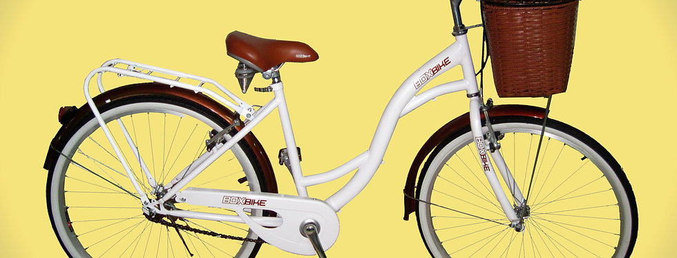 Vintage Blanca Box Bike