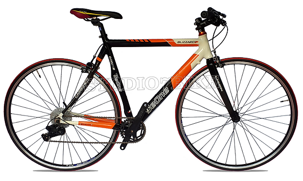 Bicicleta Híbrida Carbono Con Aluminio (Ocasión)