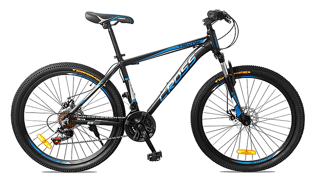 Bicicleta Cross MTB Aro 26 Aluminio