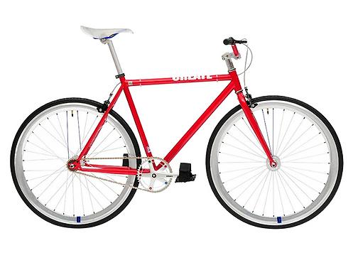 Bicicleta Fixie Inglesa Create - Roja
