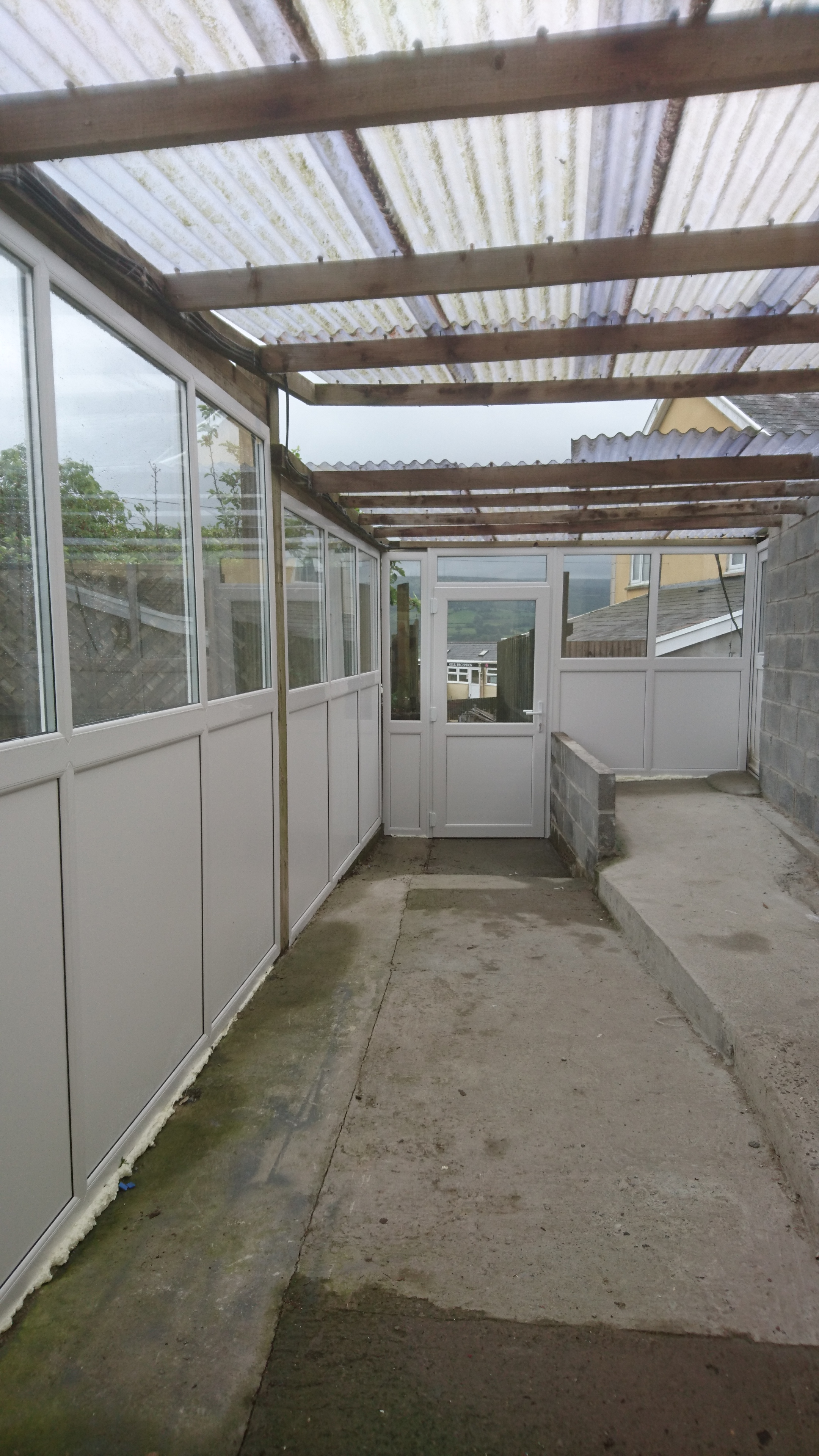 Covered Reception area  1