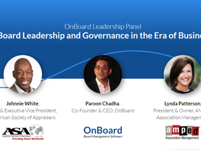 Association Governance During COVID-19