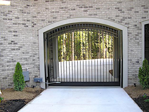 Custom Steel Gate - Charlotte