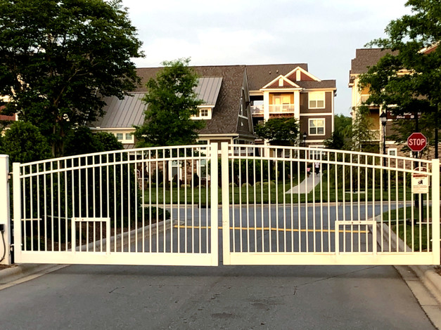 Multi-family Project Entry Gate