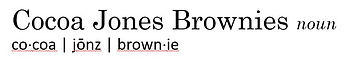 Cocoa Jones Brownies - dictionary.JPG