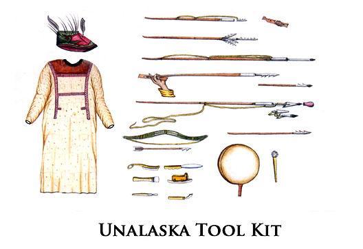 unalaska coat and tools - Fur War.jpg