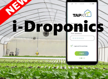 TAPKIT launches i-Droponics App for mobile devices