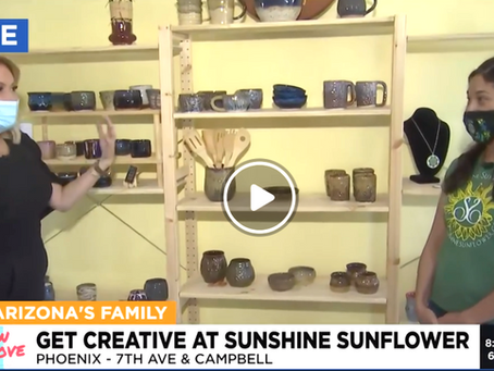 Sunshine Sunflower First Media Coverage