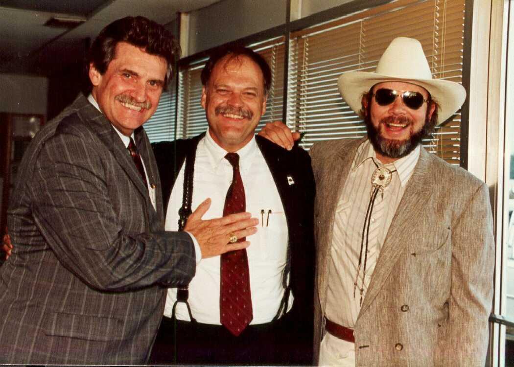 Hank Jr.&Merle Kilgore