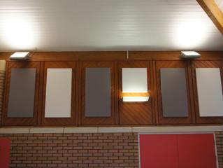 Sonar reverberation panel installed again