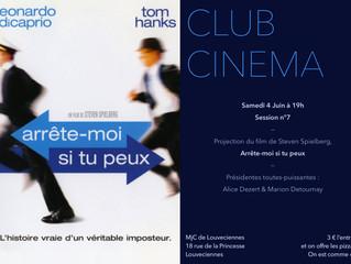 CINE CLUB SAMEDI 4 JUIN 19H