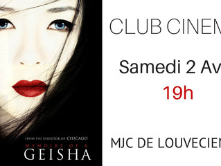 Club Cinéma samedi 2 avril